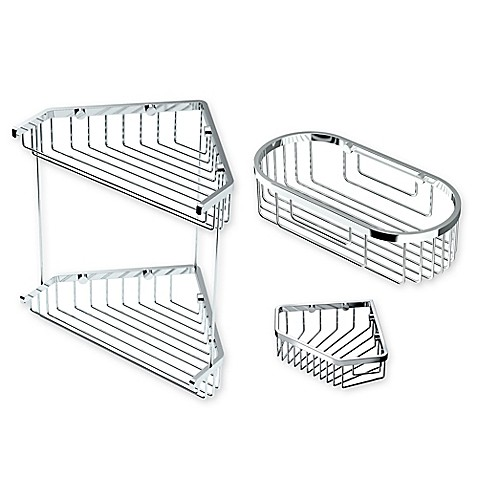Gatco Shower Corner Basket Collection