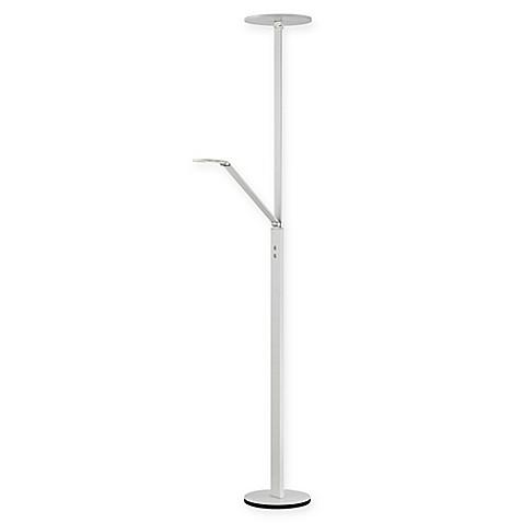 George kovacsr portables led task 71 inch floor lamp in for Task floor lamp white