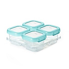 image of OXO Tot® 4-Pack 4 oz. Baby Blocks Freezer Containers