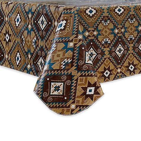 Santa Fe Vinyl Tablecloth Bed Bath Amp Beyond