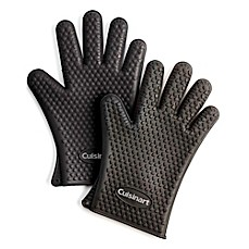 image of Cuisinart® Heat-Resistant Silicone Gloves (Set of 2)