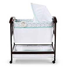 image of Summer Infant® Classic Comfort™ Wood Bassinet in White