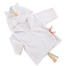 image of Baby Aspen Size 0-9M Simply Enchanted Unicorn Hooded Spa Robe