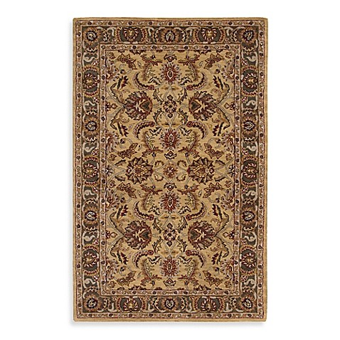 India House 2-Foot x 3-Foot Accent Rug in Gold