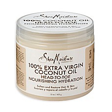 image of SheaMoisture 15 oz. 100% Extra Virgin Coconut Oil Head to Toe Nourshing Hydration