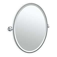 image of Gatco® Tiara 27.5-Inch x 24.25-Inch Oval Framed Mirror