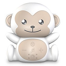 image of Project Nursery® Monkey Sound Soother in White