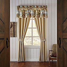 image of Croscill® Cold Springs Window Curtain Panels and Valance