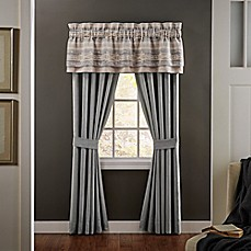 image of Croscill® Ansonia Rod Pocket Window Curtain Panels and Valance