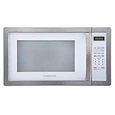image of Farberware® Classic 1.1 Cubic Foot Microwave Oven in Stainless Steel/Platinum