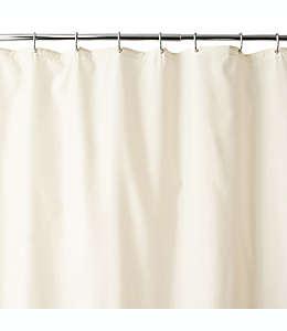 Forro de tela para cortina de baño con ventosas Wamsutta®, de 1.77 x 2.13 m en marfil