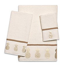image of Golden Pineapple Bath Towel Collection