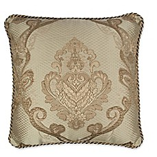 image of Austin Horn Classics Prosper 18-inch Square Throw Pillow in Copper/Gold
