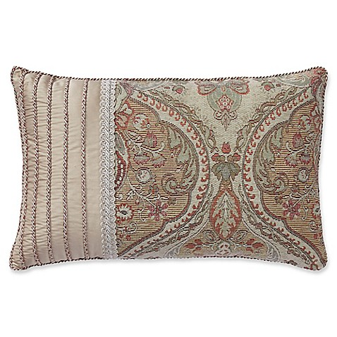buy croscill birmingham boudoir throw pillow in spice from bed bath beyond. Black Bedroom Furniture Sets. Home Design Ideas