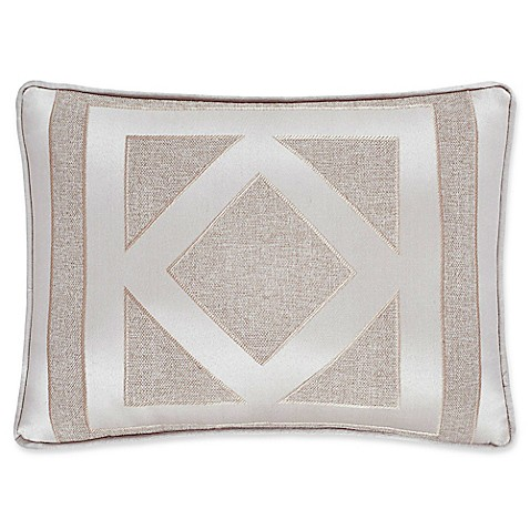 Queen Throw Pillow : J. Queen New York Kingsgate Oblong Throw Pillow in Beige - Bed Bath & Beyond