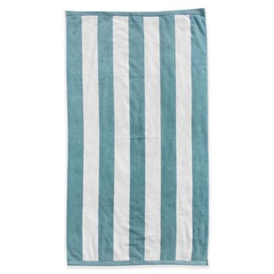 Large Striped Beach Towels and Beach Umbrellas Bed Bath Beyond