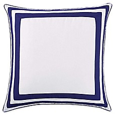 image of Christian Siriano Garden Bloom European Pillow Sham in Blue/White