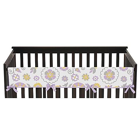 Sweet Jojo Designs Suzanna Long Crib Rail Cover In