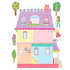 image of Wallies Playhouse Peel & Stick Wall Decals