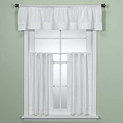 com casual windows kitchen bathroom dp amazon curtains privacy tier curtain weave semi closet inches sheer short panels