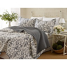 image of Laura Ashley® Amberley Quilt Set