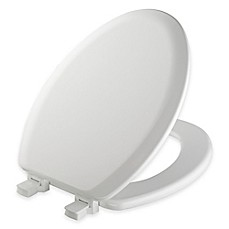 toilet seat. image of Mayfair Elongated Molded Wood Toilet Seat with Easy Clean  Change Hinge Seats Bed Bath Beyond