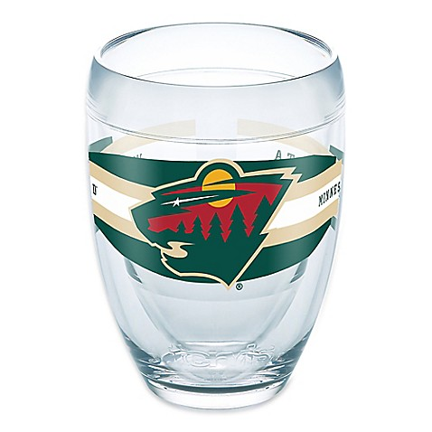Tervis nhl minnesota wild 9 oz select stemless wine glass bed bath beyond - Insulated stemless wine glasses ...