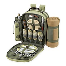 image of Picnic at Ascot 4-Person Picnic Backpack with Blanket