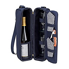 image of Picnic at Ascot Sunset Wine Tote for 2 with Glasses