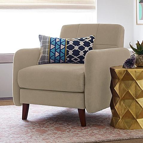 Buy elle d cor natalie armchair in beige from bed bath beyond - Elle decor natale ...