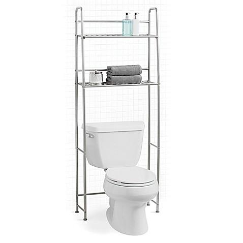 image of salt toilet rack