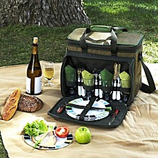 image of Picnic at Ascot Deluxe Picnic Cooler for 4