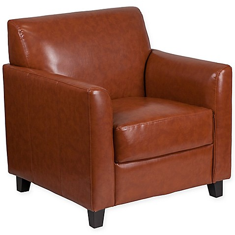 Buy Flash Furniture Hercules Diplomat Leather Chair In Cognac From Bed Bath Beyond