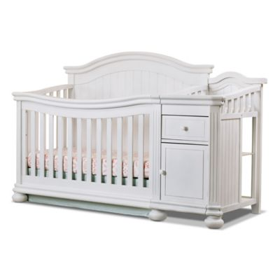 Sorelle Finley 4 In 1 Convertible Crib And Changer
