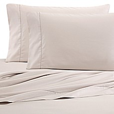 image of Wamsutta PimaCott 525-Thread-Count Sheets in Khaki