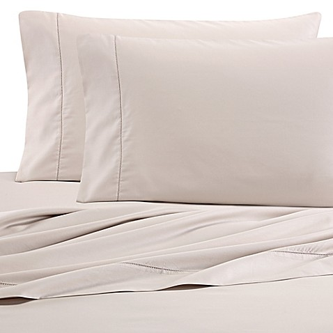 wamsutta pimacott sheets in khaki - Thread Count Sheets