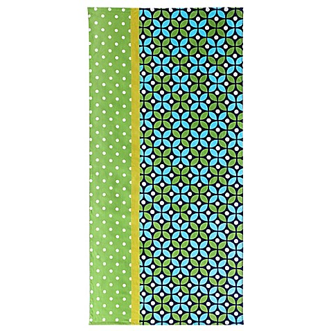 Buy clairebella cirque beach towel in green from bed bath for Clairebella