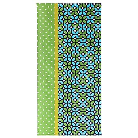 Buy clairebella cirque beach towel in green from bed bath for Clairebella
