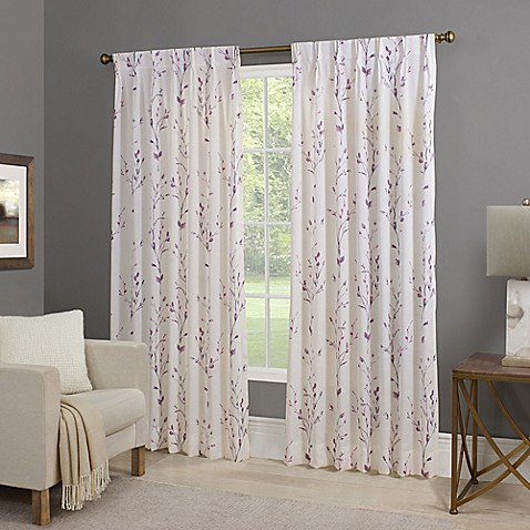 Willow Back Tab Window Curtain Panel
