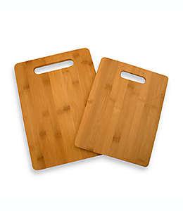 Tablas para picar de bambú, Set de 2