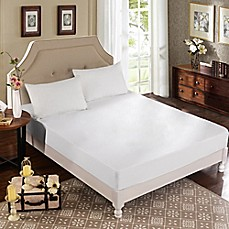 image of Greenzone 3-Piece Terry Mattress Protector Set