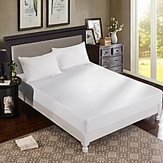 image of Dreamtex Home Greenzone 3-Piece Jersey Mattress and Pillow Protector Set