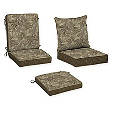 image of Bombay® Palmetto Outdoor Cushion Collection in Mocha