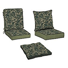 image of Bombay® Casablanca Elephant Outdoor Cushion Collection in Green