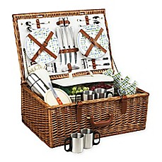 image of Picnic At Ascot Dorset Basket for 4 with Coffee Service