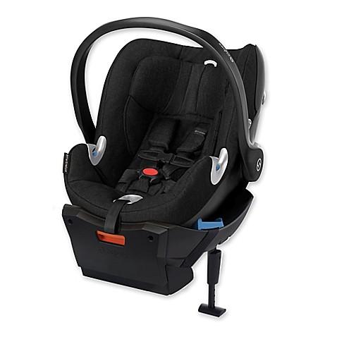 cybex platinum aton q plus infant car seat in black beauty bed bath beyond. Black Bedroom Furniture Sets. Home Design Ideas