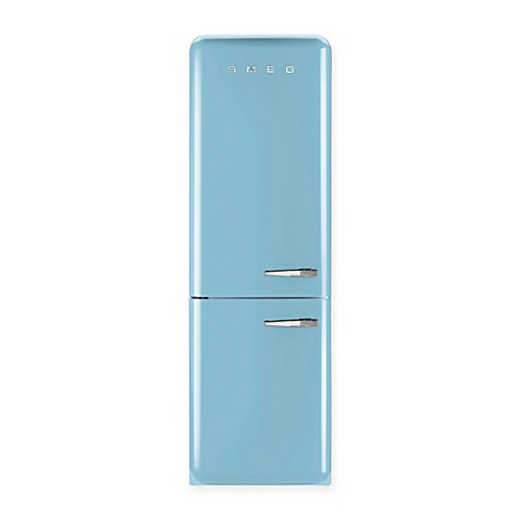 Smeg 117 Cu Ft 5039s Retro Style Left Hinge Refrigerator