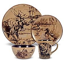 Mossy Oak® Break Up Infinity 16-Piece Dinnerware Set  sc 1 st  Bed Bath u0026 Beyond & Lodge Dinnerware | Cabin Dinnerware Sets | Bed Bath u0026 Beyond