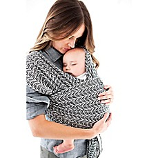 image of Moby® Wrap Stary Nights of Salvador Baby Carrier in Black