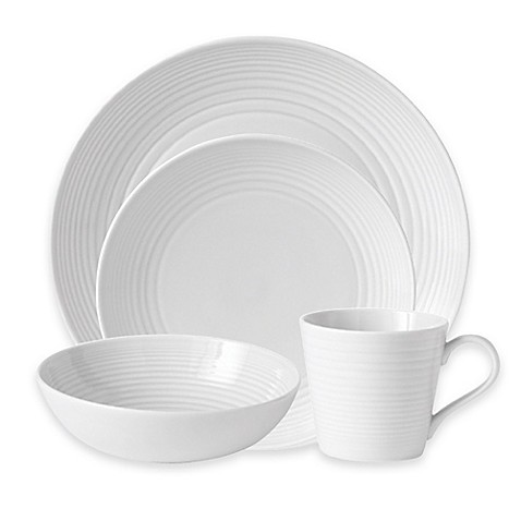 Gordon Ramsay by Royal Doultonu0026reg; Maze Dinnerware Collection in White  sc 1 st  Bed Bath u0026 Beyond & Gordon Ramsay by Royal Doulton® Maze Dinnerware Collection in White ...